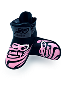 ADF-005 - Stock Design Black and Pink Foot pads