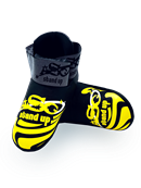 ADF-006 - Stock Design Black and Gold Foot Pads