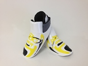 ADF-011 Stock Design Footpads / Yellow and Black