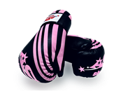 ADG-005  - Stock Design Black and Pink Glove