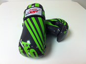 ADG-007 Stock Design Glove Gray and Lime Green