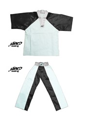 BU-001 - Stock Design Uniform/White and Black