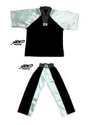 BU-002 - Stock Design Uniform/Black and White