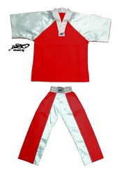 BU-003 - Stock Design Uniform/Red and White