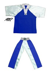 BU-005 - Stock Design Uniform/Blue and White