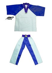 BU-006 - Stock Design Uniform/White and Blue