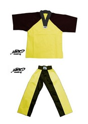 BU-010 - Stock Design Uniform/Yellow and Black