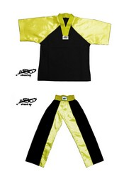 BU-011 - Stock Design Uniform/Black and Yellow