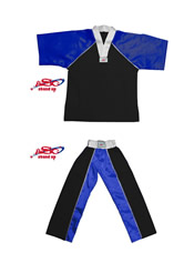 BU-012 - Stock Design Uniform/Black and Blue