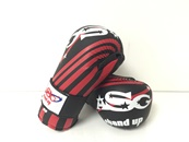 XG-01 X Series Competition Gloves/Black and Red